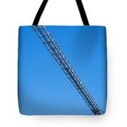 Construction Crane 01 Tote Bag by Antony McAulay