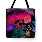 Contemplative Boxer Dog Tote Bag by Marlene Watson