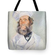 Cook Tote Bag by Claude Monet