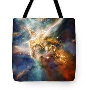 Cool Carina Nebula Pillar 4 Tote Bag by The  Vault - Jennifer Rondinelli Reilly