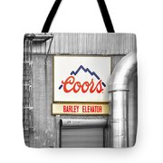 Coors Barley Elevator Bw Color Tote Bag by James BO  Insogna