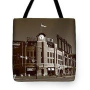 Coors Field - Colorado Rockies 17 Tote Bag by Frank Romeo