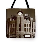 Coors Field - Colorado Rockies 20 Tote Bag by Frank Romeo