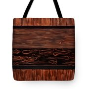 Copper Dots Tote Bag by Michael Pickett