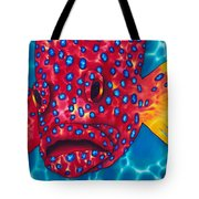 Coral Grouper Tote Bag by Daniel Jean-Baptiste