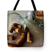 Corks 2 Tote Bag by Cheryl Young