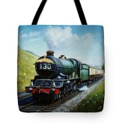Cornish Riviera To Paddington. Tote Bag by Mike  Jeffries