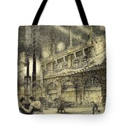 Coronation Evening London 1937 Tote Bag by Jack Coburn Witherop