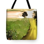 Cosmic Autumn Tote Bag by Lenore Senior