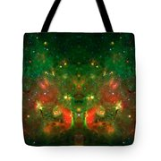 Cosmic Reflection 1 Tote Bag by The  Vault - Jennifer Rondinelli Reilly