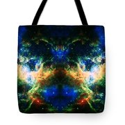 Cosmic Reflection 2 Tote Bag by The  Vault - Jennifer Rondinelli Reilly