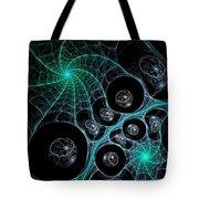 Cosmic Web Tote Bag by Anastasiya Malakhova