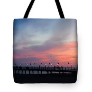 Costa Rican Sunset Tote Bag by Adam Romanowicz