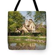Cottage in the Hameau de la Reine Tote Bag by Jennifer Lyon
