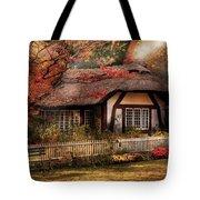Cottage - Nana's House Tote Bag by Mike Savad