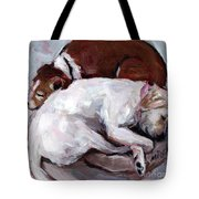 Cottonball Tote Bag by Molly Poole