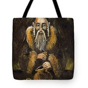 Counting The Gold Coins Tote Bag by Angel  Tarantella