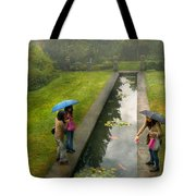 Country - A Day Out With The Girls Tote Bag by Mike Savad
