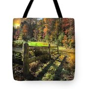 Country Dawn Tote Bag by Debra and Dave Vanderlaan