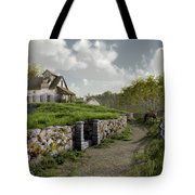 Country Road Tote Bag by Cynthia Decker