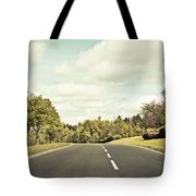 Country road Tote Bag by Tom Gowanlock