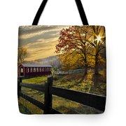 Country Times Tote Bag by Debra and Dave Vanderlaan