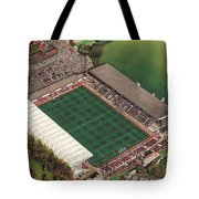County Ground - Swindon Town Tote Bag by Kevin Fletcher