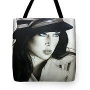 'couture' Tote Bag by Christian Chapman Art