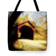 Covered Bridge 2 Tote Bag by Cheryl Young