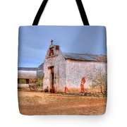 Cowboy Church Tote Bag by Tap On Photo
