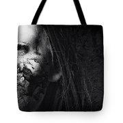 Cracked Face Tote Bag by Erik Brede