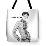 Cravat Tote Bag by Sarah Parks