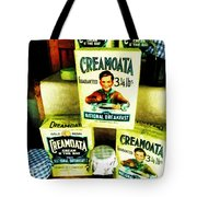 Creamoata - Cream  O' The Oat Tote Bag by Steve Taylor