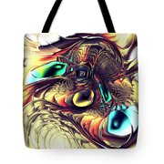 Creature Tote Bag by Anastasiya Malakhova