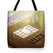 Credit Card Macro - 3d Graphic Tote Bag by Johan Swanepoel