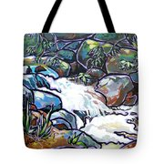 Creek Tote Bag by Nadi Spencer
