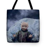 Creepy Doll Tote Bag by Joana Kruse