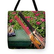 Cricket At The Club Tote Bag by Tom Gari Gallery-Three-Photography