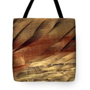 Crimson And Gold Tote Bag by Mike  Dawson