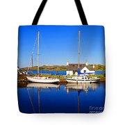 Crinan Canal Tote Bag by Craig B