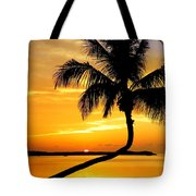 Crooked Palm Tote Bag by Karen Wiles