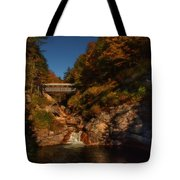 Crossing Over Tote Bag by Jeff Folger
