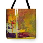 Crossing Over Tote Bag by Pat Saunders-White