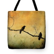 Crowded Branch Tote Bag by Gothicolors Donna Snyder