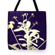 Crown Of Thorns - Indigo Tote Bag by Shawna  Rowe