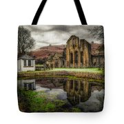 Crucis Abbey Tote Bag by Adrian Evans
