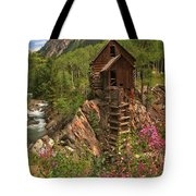 Crystal Mill Wildflowers Tote Bag by Adam Jewell
