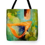 Cue L'orange Tote Bag by Larry Martin