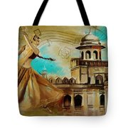 Cultural Dancer Tote Bag by Catf