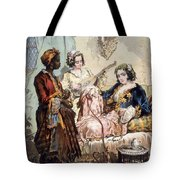 Cup Of Coffee, 1858 Tote Bag by Amadeo Preziosi